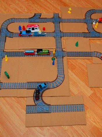 Printable Train Tracks