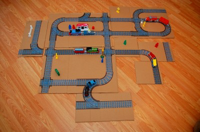 Printable Train Tracks