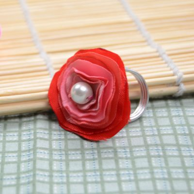 Ribbon Flower Ring