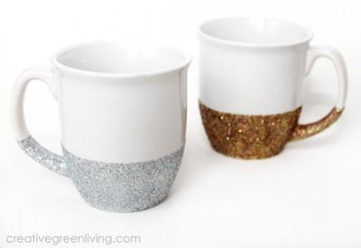 Dishwasher Safe Glitter Mugs