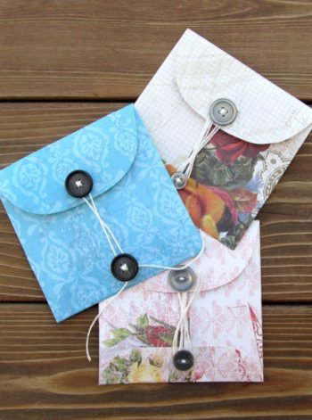 Buttoned Up Envelopes