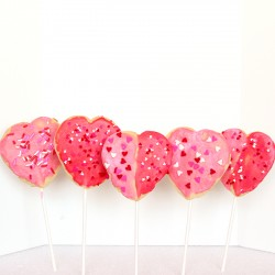Valentines Day Cookie Pops