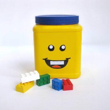DIY Lego Head Can