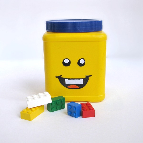 DIY Lego Head Can