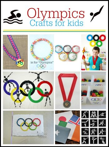 Olympics Crafts and Recipes for Kids