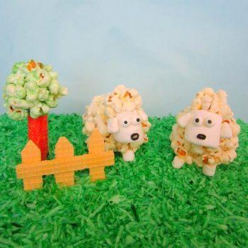 Popcorn Ball Lambs