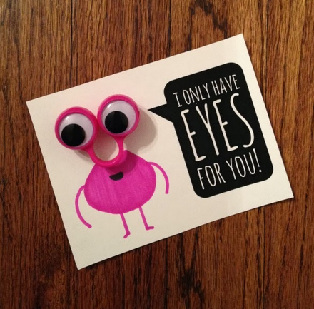 Only Have Eyes For You Valentine