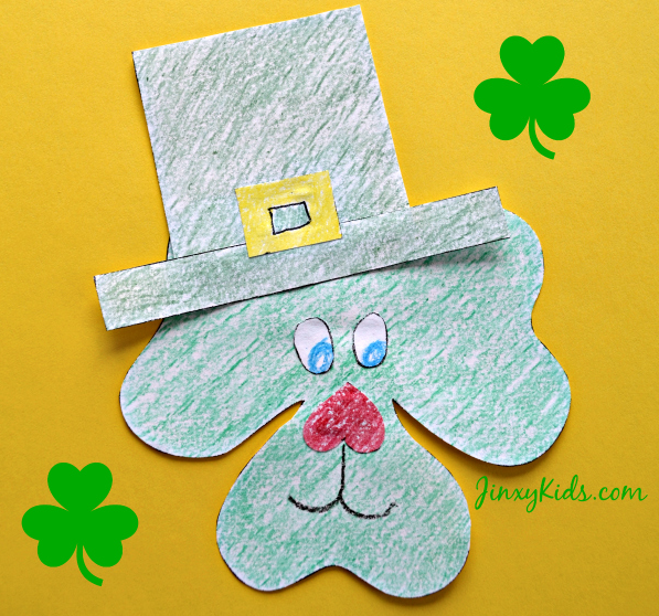 Shamrock Puppy Printable