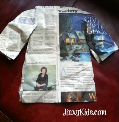 Newspaper Shirts