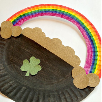 Paper Plate Pot of Gold