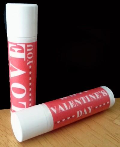 Printable Valentine Lip Balm Wrapper
