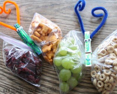 Butterfly Snack Clips