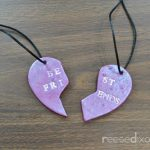 Clay Best Friend Necklace