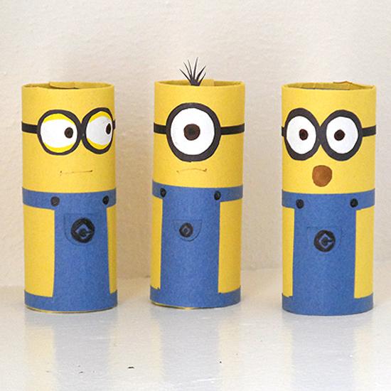 Cardboard Tube Minions