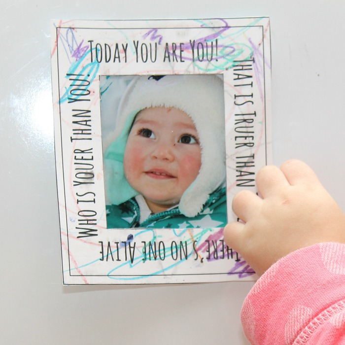 Dr Seuss Quote Printable Frame Fun Family Crafts