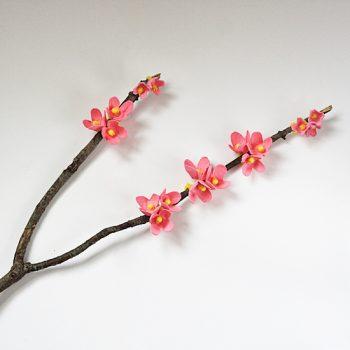 Egg Carton Cherry Blossoms