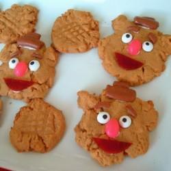 Fozzie Bear Cookies