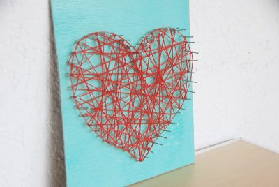 Thread and Nail Art