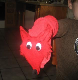 Fox in Socks Sock Puppet