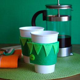 Kermit the Frog Cup Cozy