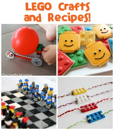 Lego Crafts and Recipes at Fun Family Crafts