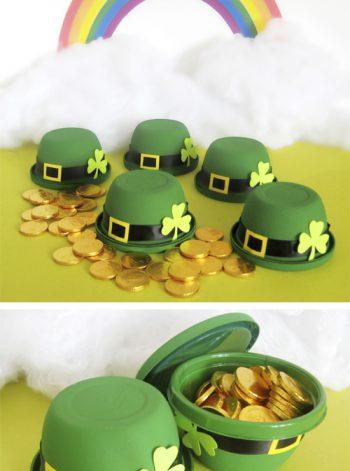 Leprechaun Hat Treat Cups