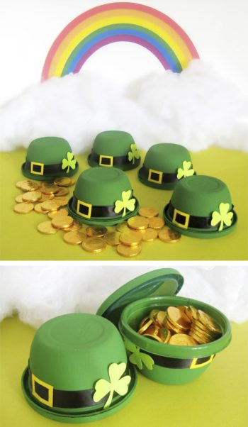 Leprechaun Hat Treat Cups