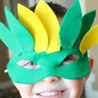 Felt Mardi Gras Mask