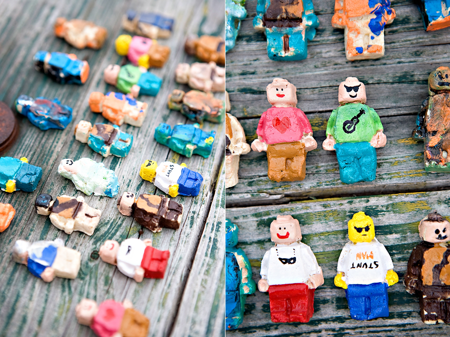 Salt dough minifigs fun family crafts for Clay mural making