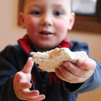 Edible Oatmeal Playdough