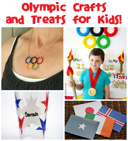 Olympic Crafts for Kids at Fun Family Crafts
