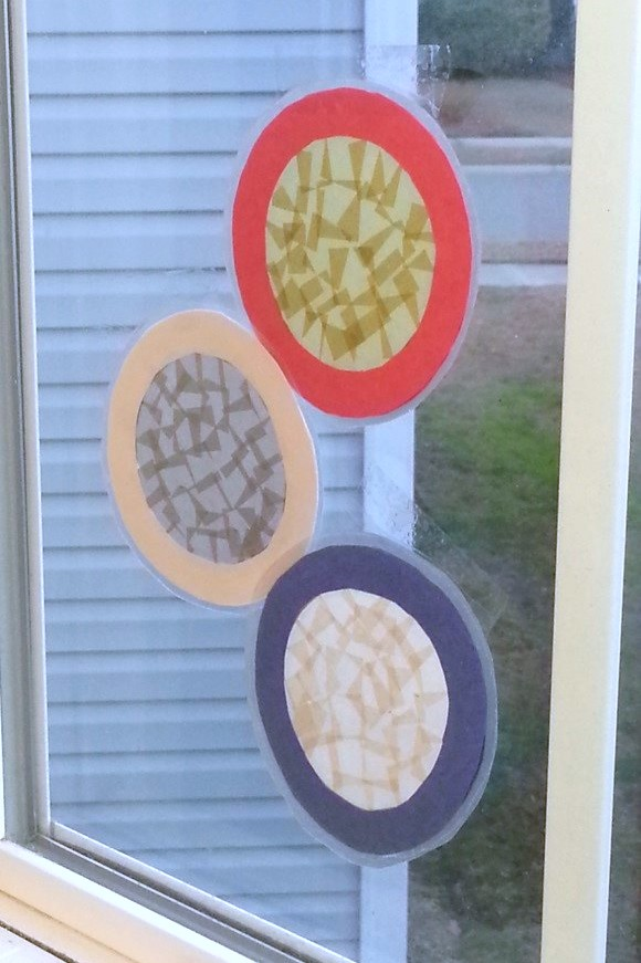 Olympic Medals Stained Glass Art