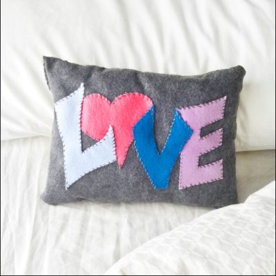 Cute Pillow Crafts : Love Pillows Fun Family Crafts