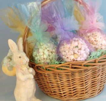 Easter Popcorn Balls