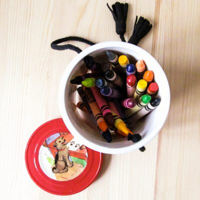 Crayons To-Go Container