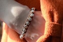 Micro Macramé Bracelet