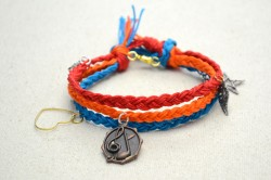 Multi Strand Charm Friendship Bracelet