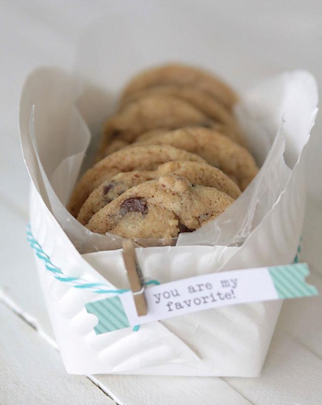Paper Plate Cookie Basket