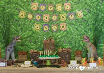 Dinosaur Birthday Party