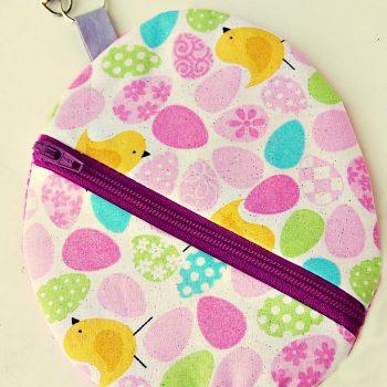 Easter Egg Zipper Pouch