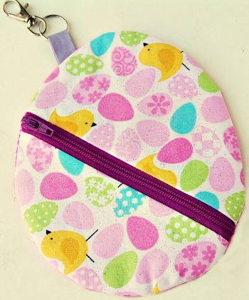 Easter Egg Zipper Pouch