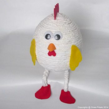Balloon Yarn Chicken