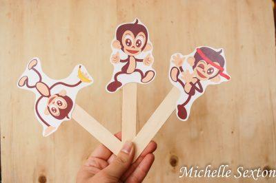 Free Printable Monkey Puppets