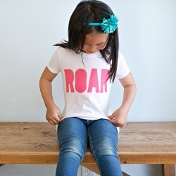 Screen Printed Roar Shirt