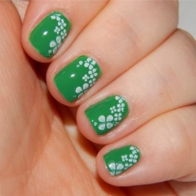 Shamrockin' Nail Art