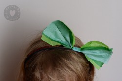 St. Patrick's Hair Bow