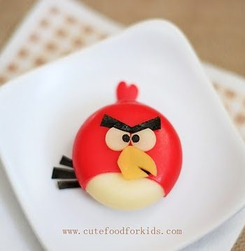 Babybel Cheese Angry Bird