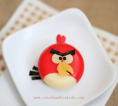 Babybel Cheese Angry Bird