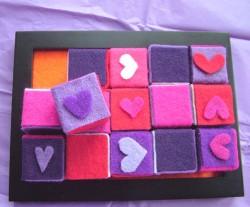 Fuzzy Felt Blocks