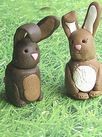 Little Clay Bunnies